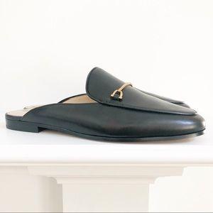 NWT Sam Edelman Lounette Black Leather Mules